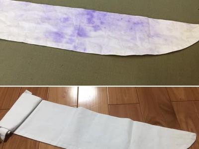 シミ抜き事例byインスタグラム【色移り・移染のシミ抜き】