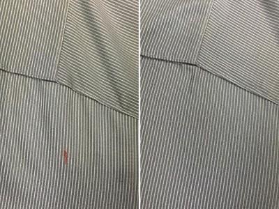 シミ抜き事例byインスタグラム【Yシャツについたボールペンのシミ抜き】