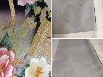 シミ抜き事例byインスタグラム【着物色移りのシミ抜き】