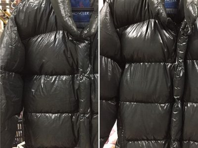 洗うと暖かさが蘇る!モンクレールダウンジャケット【北陸クリーニング工場:新潟県柏崎市】
