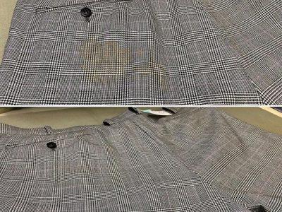 シミ抜き事例byインスタグラム【スーツのズボン黄変のシミ抜き】