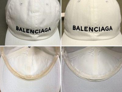 バレンシアガのキャップのクリーニング!~型崩れまで修正します~