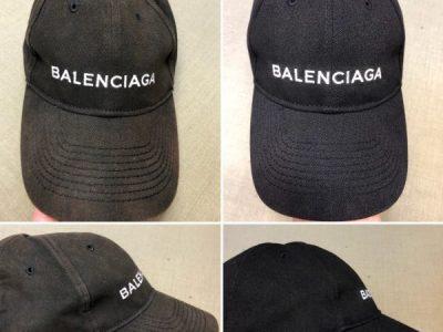 バレンシアガ(balenciaga)のキャップの色褪せ修正!~型崩れまで修正します~