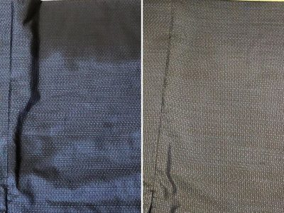 シミ抜き事例byインスタグラム【着物のシミ抜き(灯油)】