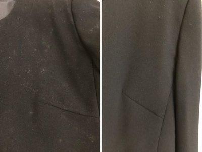 シミ抜き事例byインスタグラム【礼服のカビのシミ抜き】