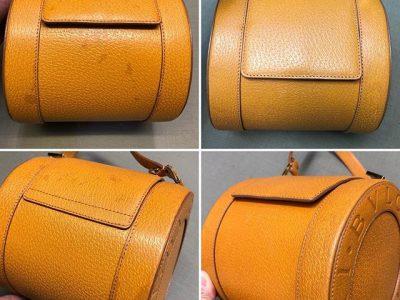シミ抜き事例byインスタグラム【ブルガリ(BVLGARI)の鞄のシミ抜き】