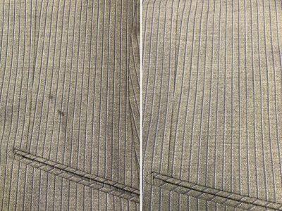 シミ抜き事例byインスタグラム【スーツについたインクのシミ抜き】