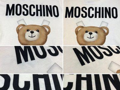 シミ抜き事例byインスタグラム【モスキーノ(Moschino)のTシャツの色移りのシミ抜き】
