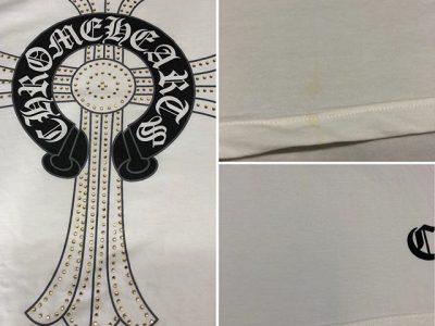シミ抜き事例byインスタグラム【クロムハーツ(chromehearts)のTシャツのシミ抜き】