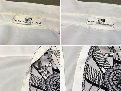 シミ抜き事例byインスタグラム【バレンシアガのシャツの襟汚れのシミ抜き】