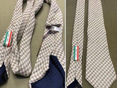ネクタイの補修事例