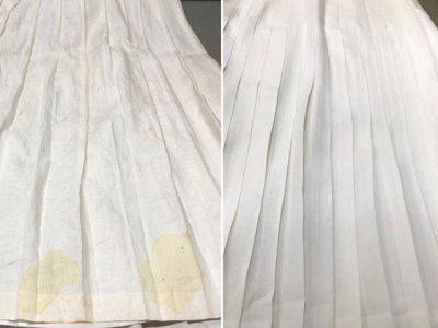 シミ抜き事例byインスタグラム【麻スカートのシミ抜き】