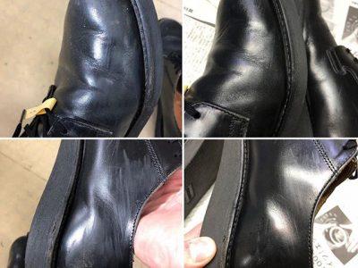 シミ抜き事例byインスタグラムシミ抜き事例byインスタグラム【レッドウィング(RedWing)革靴のクリーニング色修正】