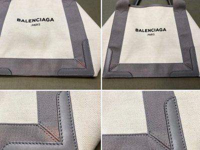シミ抜き事例byインスタグラム【バレンシアガ(balenciaga)のトートバッグの色褪せ(脱色)修正】