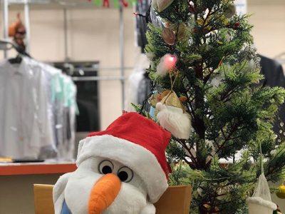 ♪メリークリスマス♪店内もクリスマス装飾になりました!