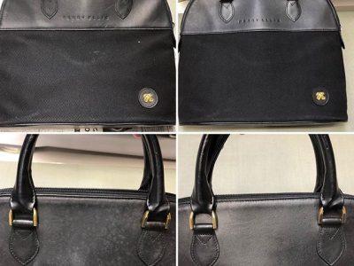 シミ抜き事例byインスタグラム【ペリー エリス(PERRY ELLIS)の鞄、カビのシミ抜き】