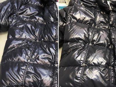 シミ抜き事例byインスタグラム【モンクレール(moncler)のダウンジャケットがふっくら蘇りました!】