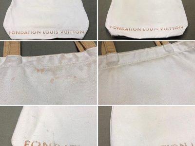 シミ抜き事例byインスタグラム【ルイヴィトン(LOUIS VUITTON)のトートバッグの色移りのシミ抜き&クリーニング】