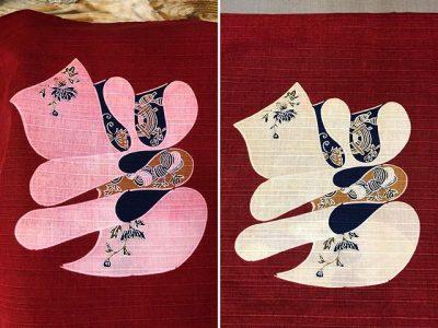 シミ抜き事例byインスタグラム【座布団カバーの色移りのしみ抜き】